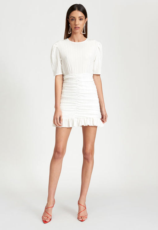 Out Of Love Mini Dress - WHITE