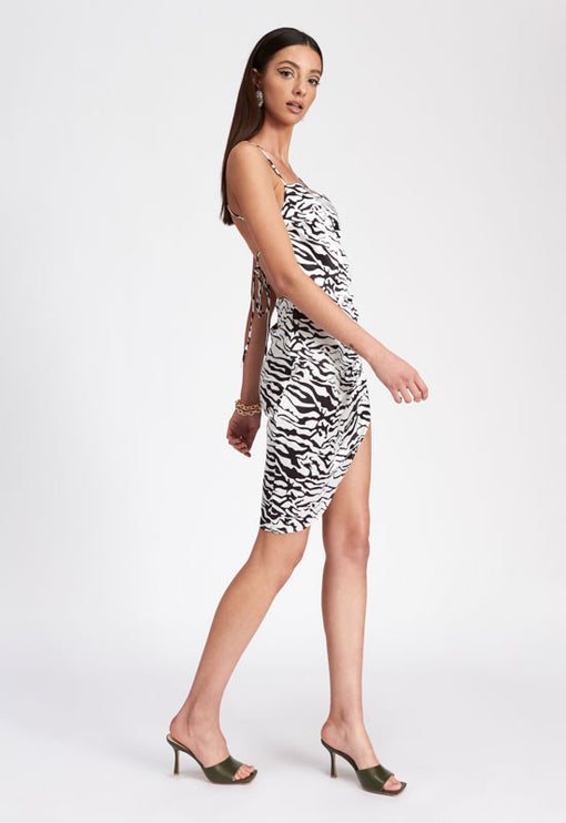 The Vivien Dress - ZEBRA
