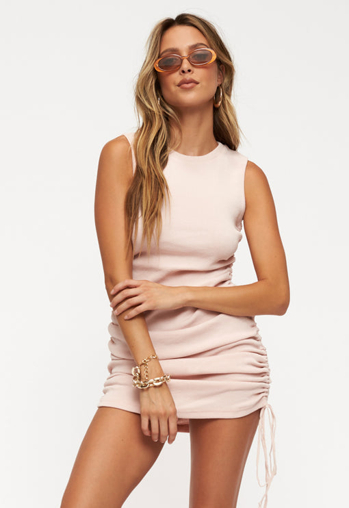 Military Minds Mini Dress - PINK<br><b>ONLINE EXCLUSIVE</b></br>