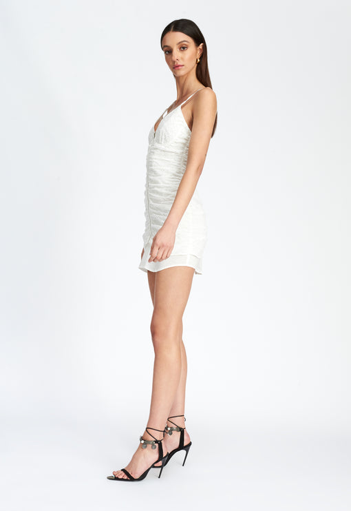 Unoriginal Sin Mini Dress - WHITE