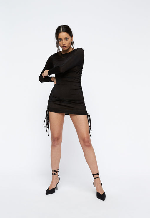 East Village Mini Dress - BLACK