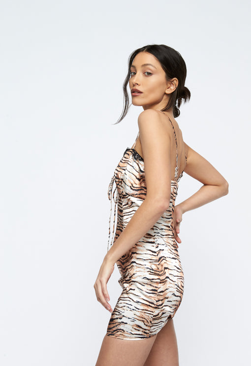 Lexington Mini Dress - TIGER