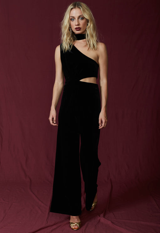 The Bold And Beautiful Jumpsuit - BLACK
