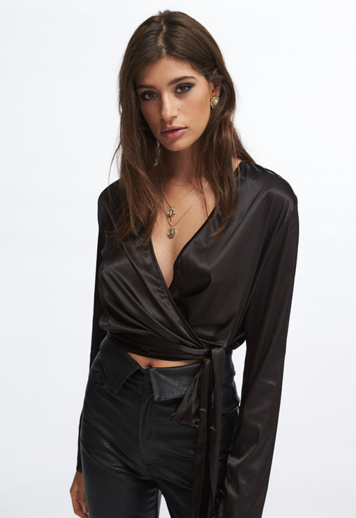 Lust And Caution Top - BLACK