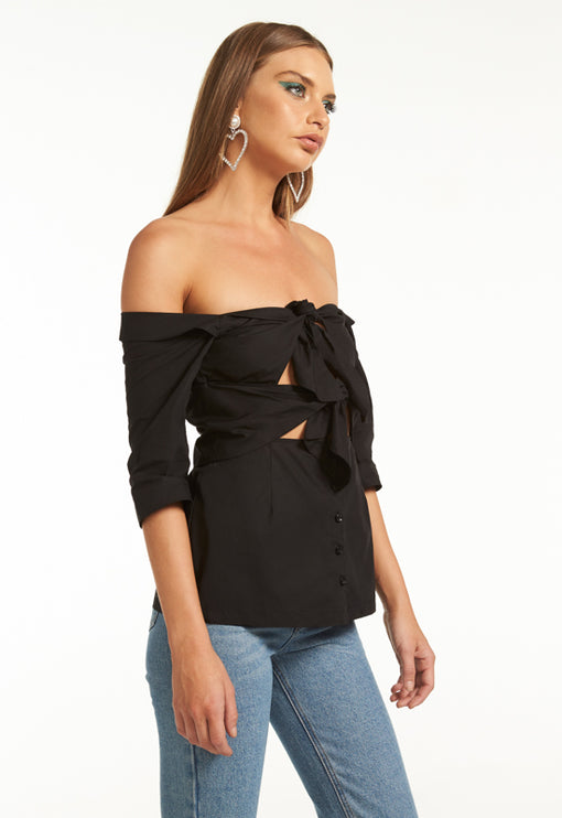 Ultimate Desire Top - BLACK