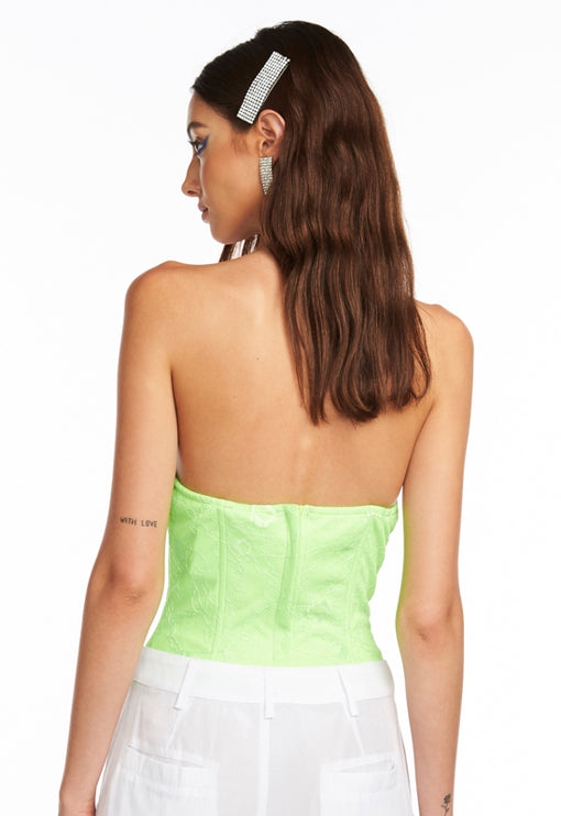 Madison Bustier - NEON GREEN