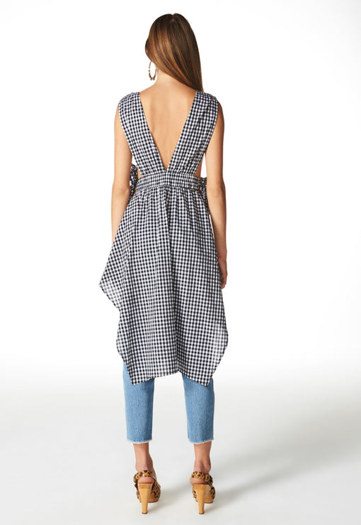 Under The Sun Top - GINGHAM