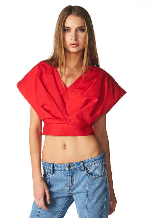 Hidden Rendevouz Top - RED