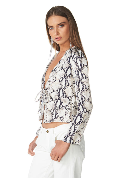 The Material Girl Top - PYTHON