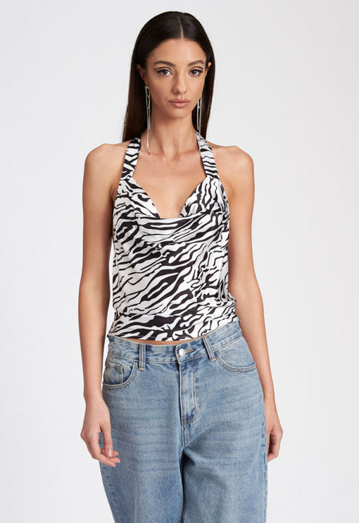 The Sahara Desert Top - ZEBRA