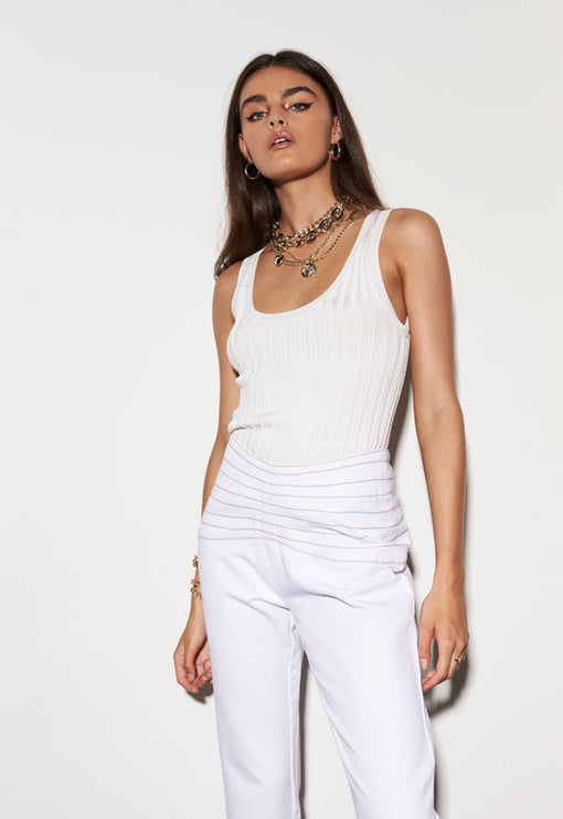 Ryder Top – WHITE