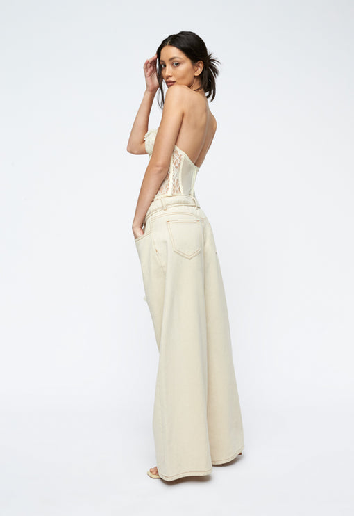 The Plaza Bustier - CREAM