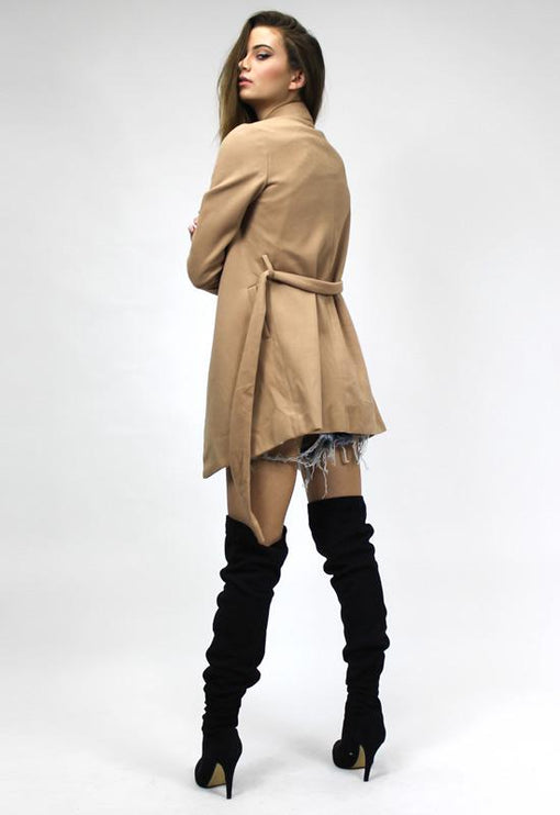 New York Minute Coat - CAMEL