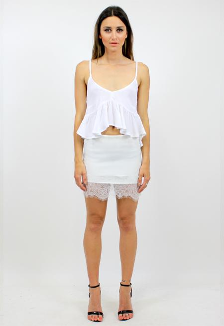 Skinny Love Top - WHITE