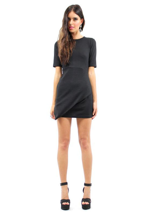 Collision Dress - BLACK