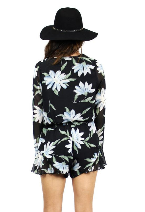 His Girl Playsuit - ISLAND PRINT