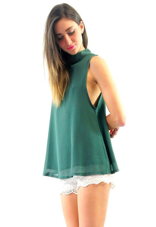 Infatuation Top - GREEN
