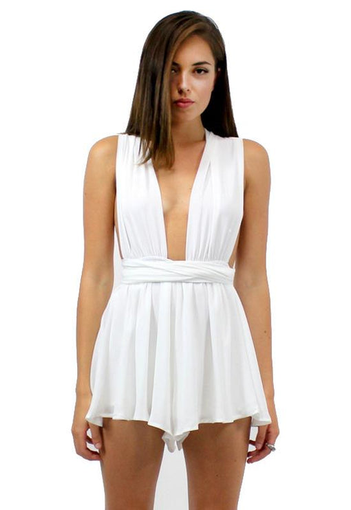 Multiway Playsuit - WHITE