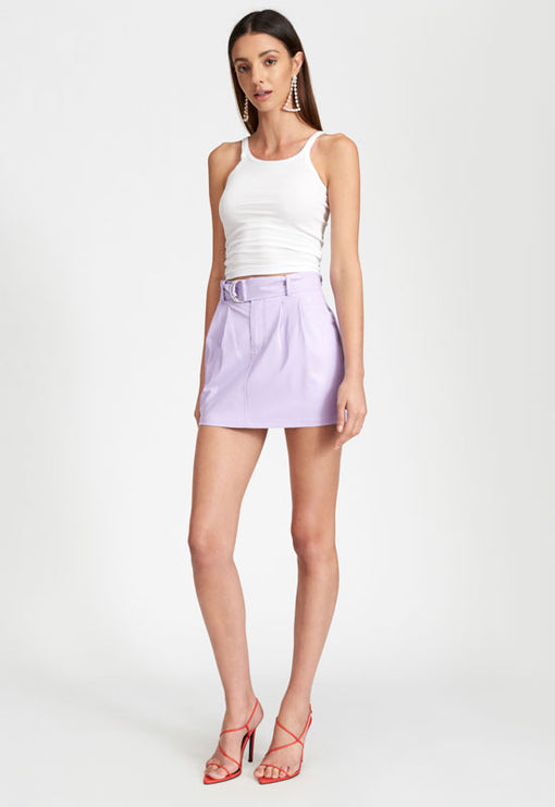 The Sanctuary Mini Skirt - LILAC
