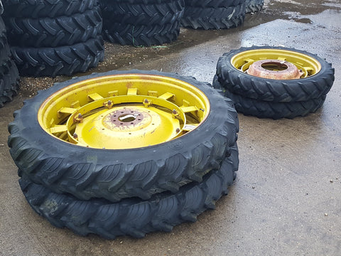270/95R48 & 8.3R36 rowcrop tyres on adjustable rims