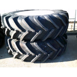 520/85R38 (20.8R38) Michelin tyres on New Holland rims