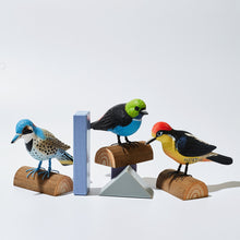 Load image into Gallery viewer, Hand-carved Wooden Animals - Birds