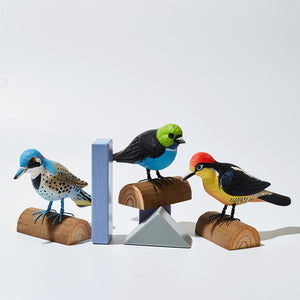 Hand-carved Wooden Animals - Birds