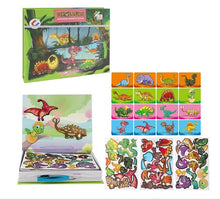 Load image into Gallery viewer, Magnetic Puzzles Book Educational Learning Kit