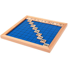 Load image into Gallery viewer, 1 to 100 Number Tray Montessori Educational Board - Wooden toy for Kids
