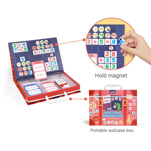 Magnetic First Math puzzle