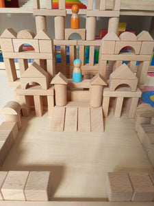 Natural Building Blocks - 128pcs