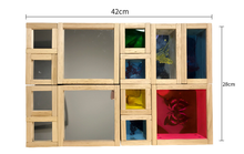 Load image into Gallery viewer, Sensory Mirror Blocks