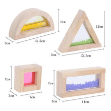 Load image into Gallery viewer, Sensory Acrylic Blocks -16pcs