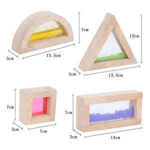 Sensory Acrylic Blocks -16pcs