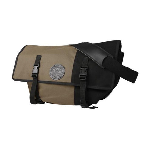 Duluth Pack Messenger Bag Khaki Front View