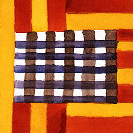 Sean Scully, 4.10.87, stripes flag
