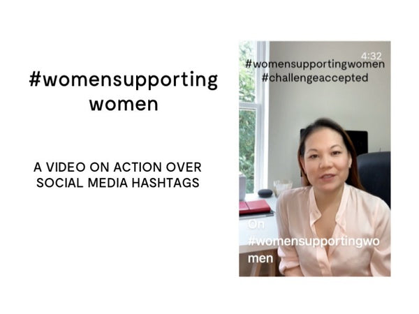 #womensupportingwomen from Designer Stacy Chan