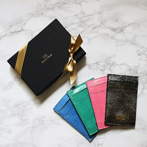 Designer Gifts Under £50 - Card Cases by Stacy Chan
