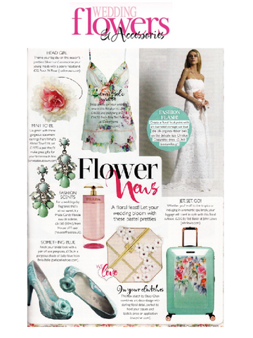 Wedding Flowers & Accessories Coverage of Stacy Chan Clutch Bags