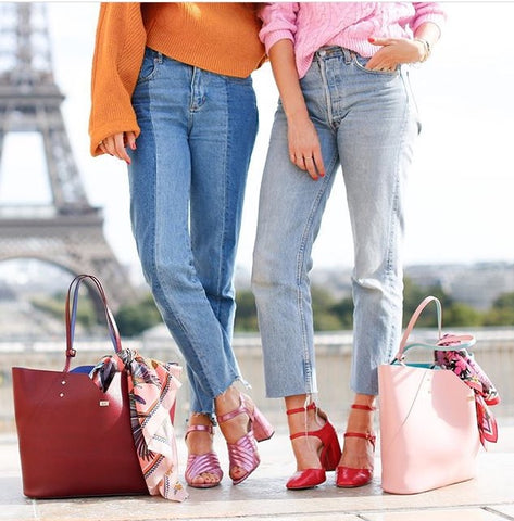 Eiffel Tower Paris Designer Handbags Belle & Bunty Bloggers