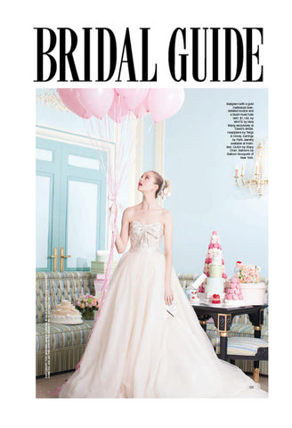 Bridal Guide Magazine Coverage of Stacy Chan Clutch Bags