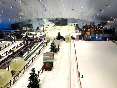 Indoor Ski Slope - Mall of Emirates - Dubai Visit Stacy Chan