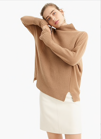 Beige Chunky Jumper Sweater Spring