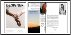 Designer Inspired Magazine by Stacy Chan