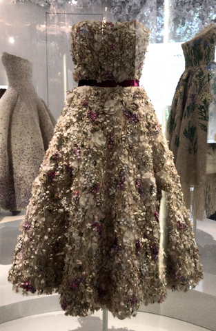 Christian Dior Exhibition Paris - Miss Dior Flower Dress
