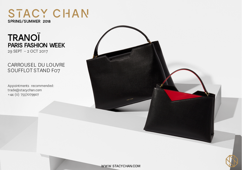 Designer Handbags Paris Fashion Week Invite - Stacy Chan