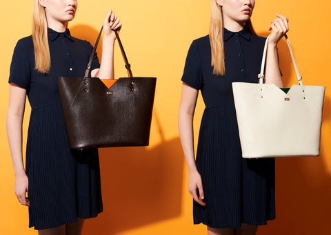 Leather Tote Bags - Designer Stacy Chan