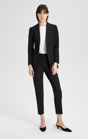 Ladies Black Spring Suit