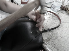 Handmade Leather Designer Handbag Made in Italy