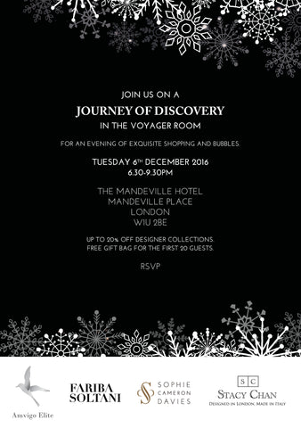 Christmas Trunk Show Mandeville Hotel - Designer Handbag by Stacy Chan